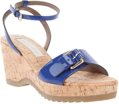 Stella Mccartney Bracelet Sandal in Blue