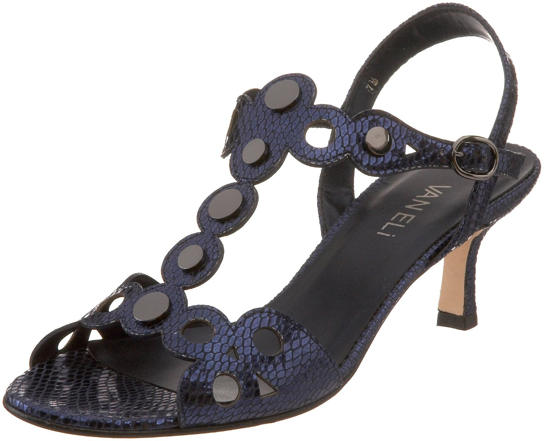 Vaneli Womens Malon Dress Sandal in Blue (navy) | Lyst