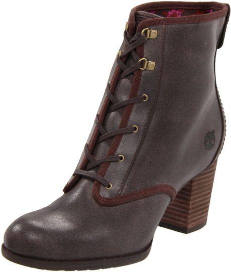 timberland womens rudston desert boot in brown dark brown lyst. Black Bedroom Furniture Sets. Home Design Ideas