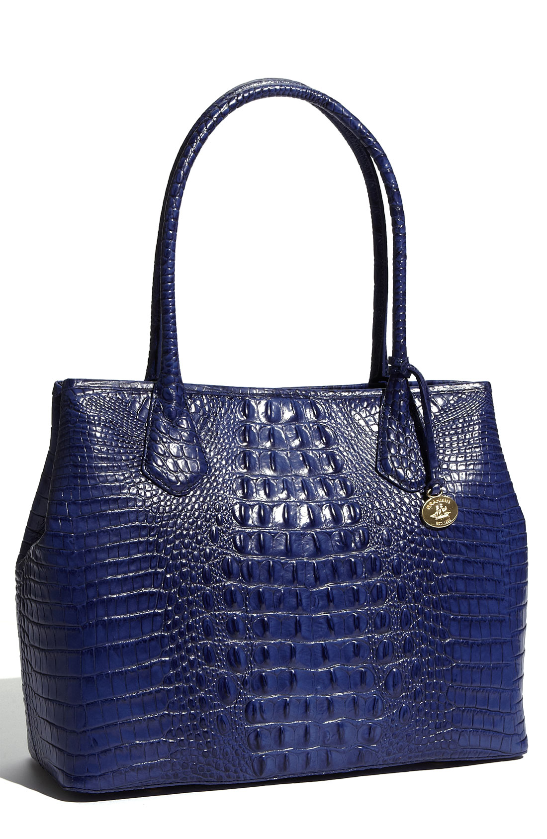 Brahmin Anytime Tote in Blue (lapis)