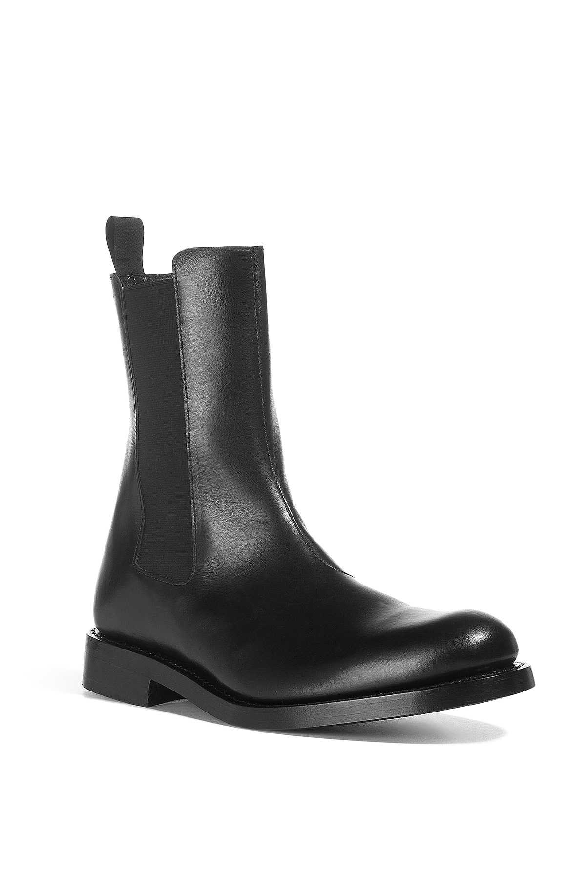 Balmain Black Half Boots In Black For Men Lyst