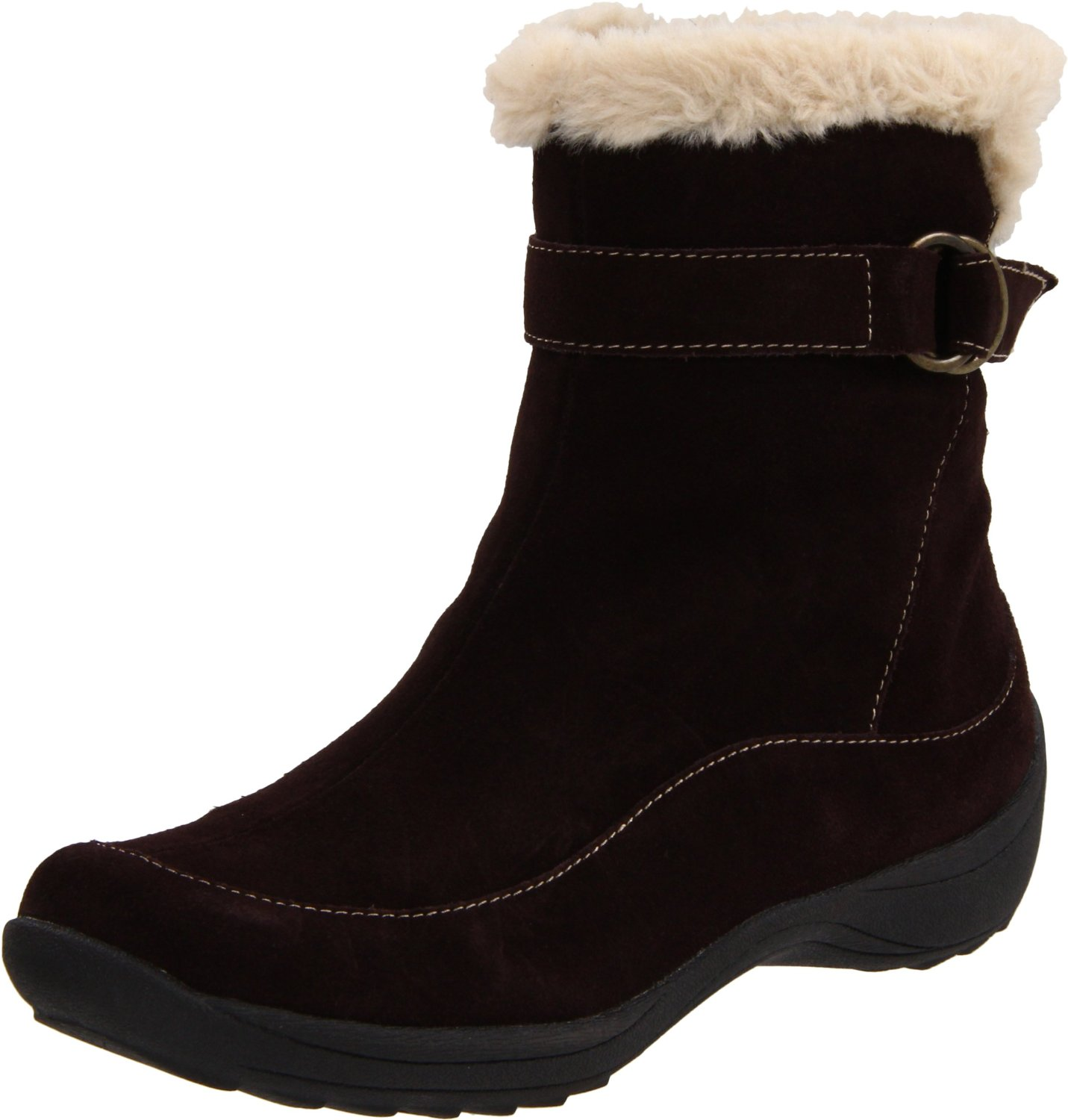 naturalizer womens valour boot in brown lyst