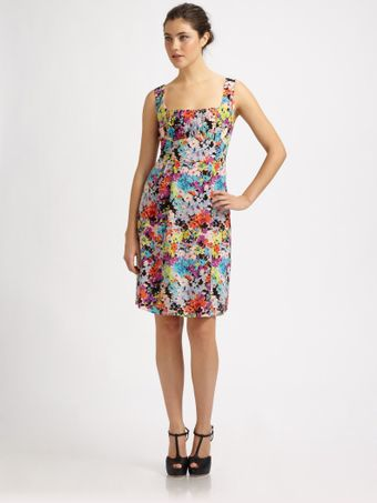 Nanette Lepore Firecracker Floral Dress - Lyst