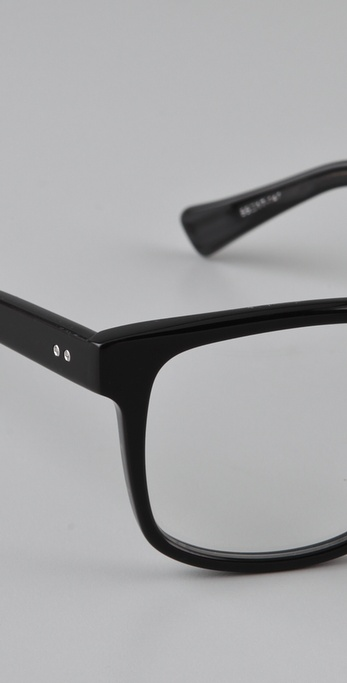 b9011fb49456 Dita Whitehall Glasses in Black - Lyst
