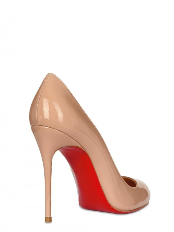 christian louboutin 100mm fifi patent pumps