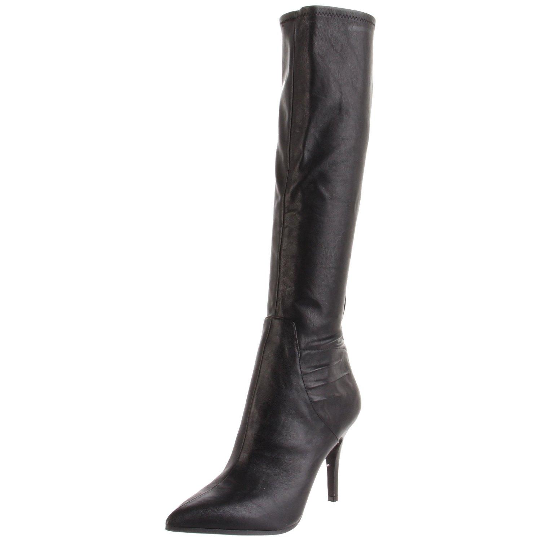 nine west womens fairvinda knee high boot in black lyst