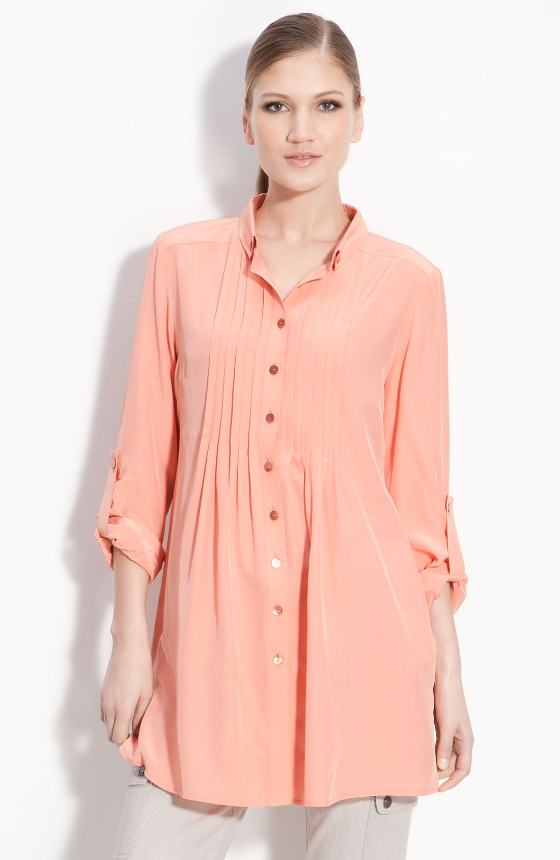 Shop women's tunics. Find unique, inspired styles of long sleeve tunic tops, linen tunics and embroidered tunics for women in misses sizes.