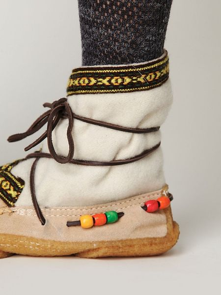 Free People Alaskan Cree Boot In White White Wool With