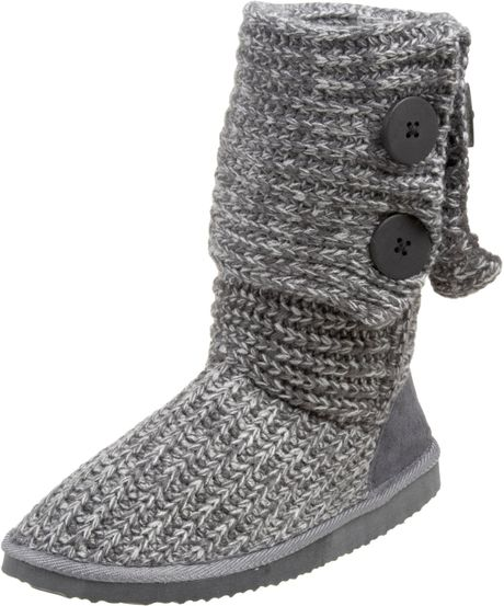 Miss Me Sweater Boots. Choice of 5 colors. Man-made knit upper is wonderfully soft. Can be worn up or folded down.