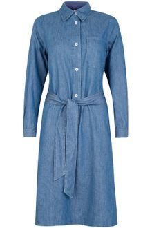 Denim Dress on Apc Denim Long Sleeve Denim Shirt Dress Product 2 2736660 742001457