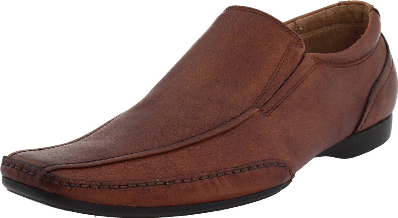 Steve Madden Mens Carvor Slip On Dress in Brown for Men (cognac