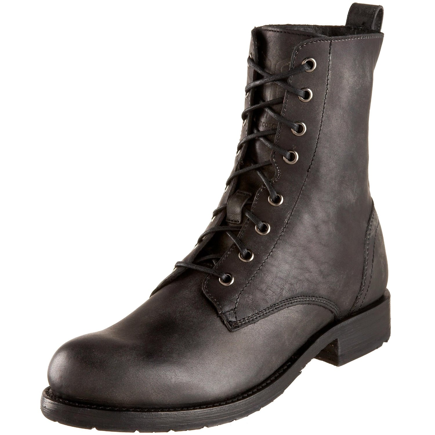 frye mens rogan lace up boot in black for lyst
