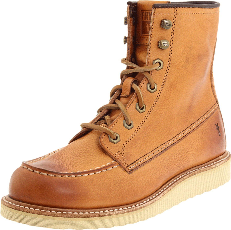 frye frye mens dakota wedge boot in beige for lyst