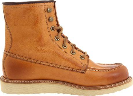 frye mens dakota wedge boot in brown for lyst