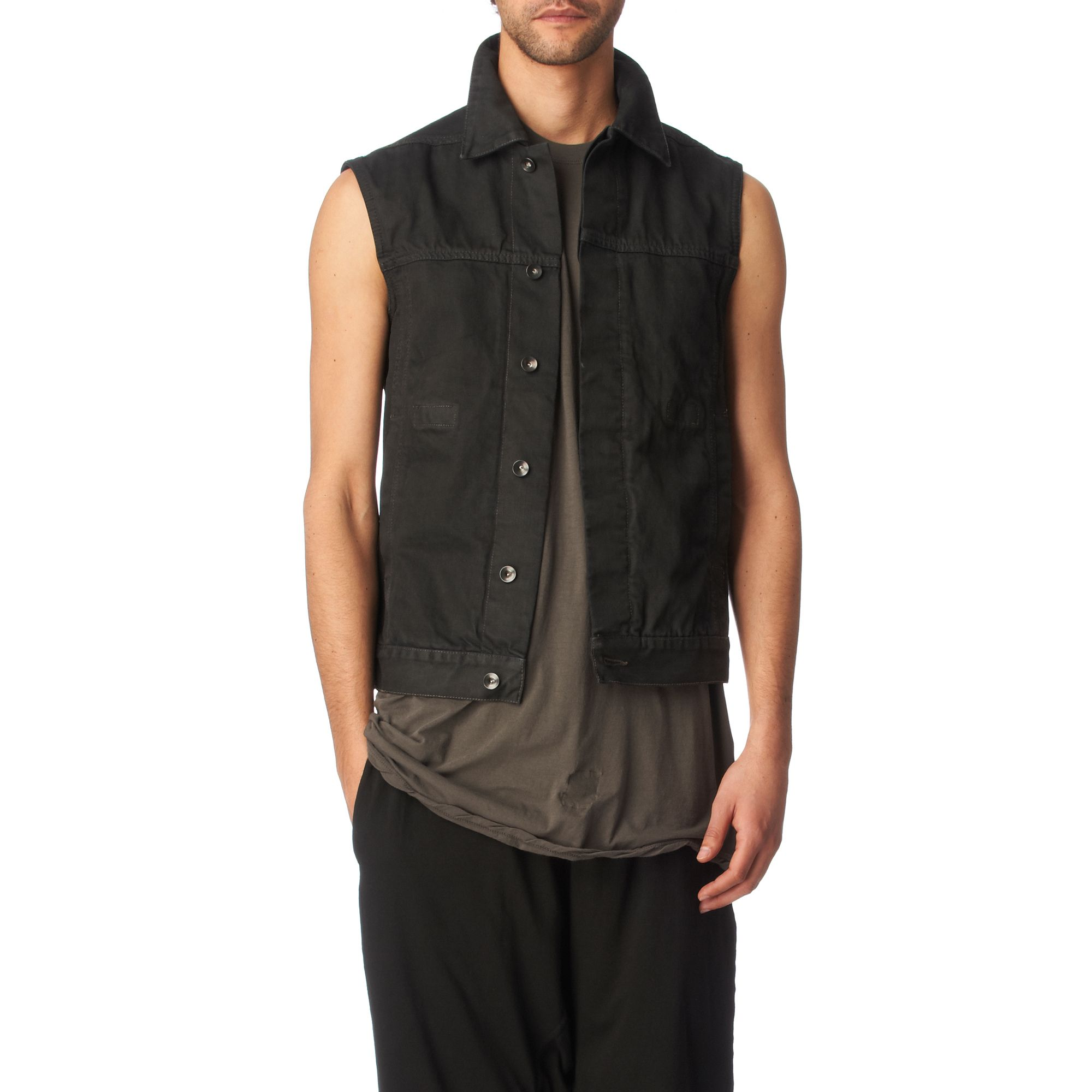 Find great deals on eBay for black denim sleeveless jacket. Shop with confidence.