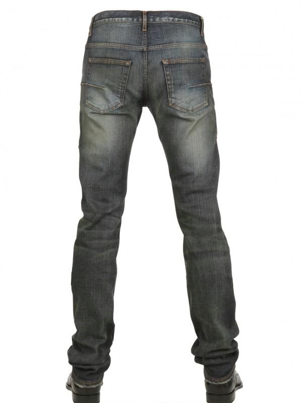 lyst dior homme jake stretch denim jeans in blue for men. Black Bedroom Furniture Sets. Home Design Ideas
