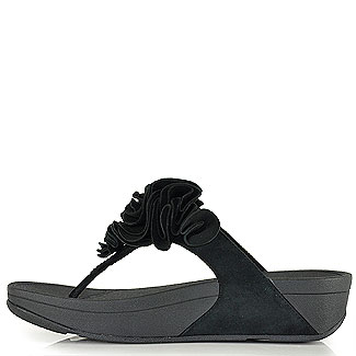 fitflop frou thong sandal black