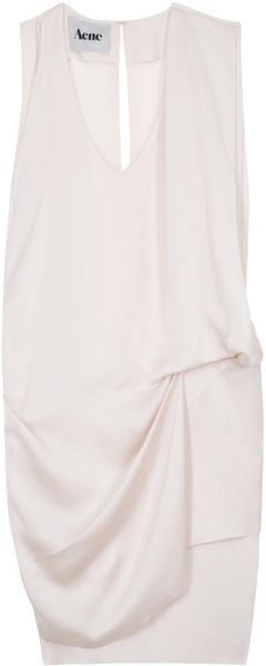 Acne Mallory Vnk Aysmetric Dress - Lyst