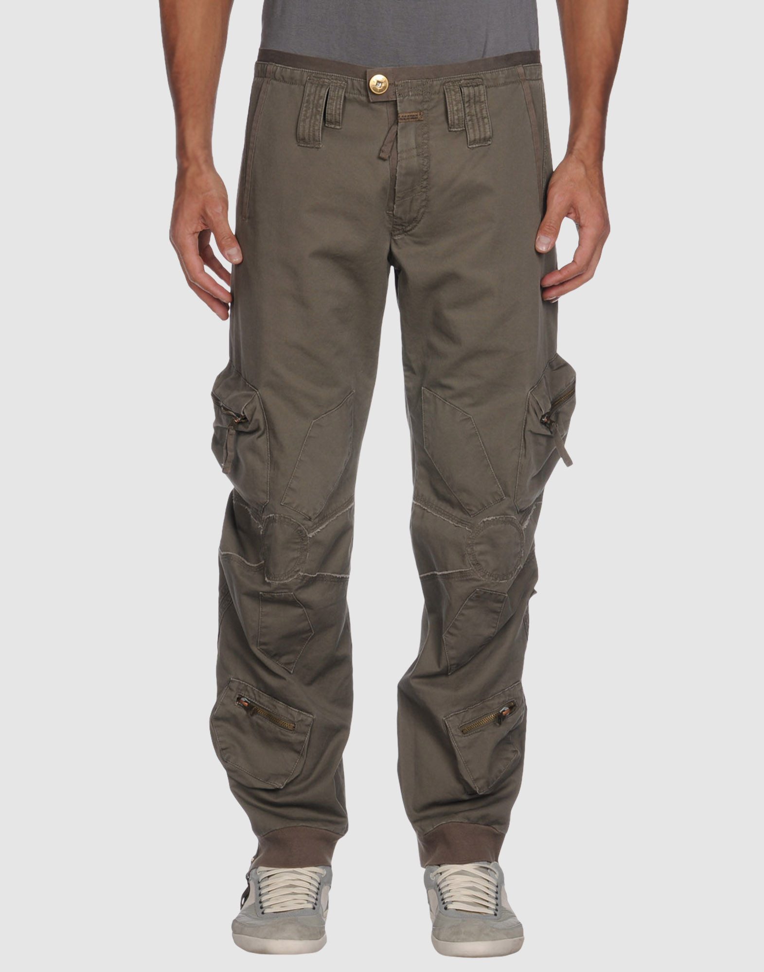 ljd marithe 39 francois girbaud casual pants in green for men khaki lyst. Black Bedroom Furniture Sets. Home Design Ideas
