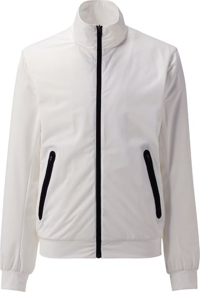 Uniqlo Comfort Mix Sport Jacket in White for Men