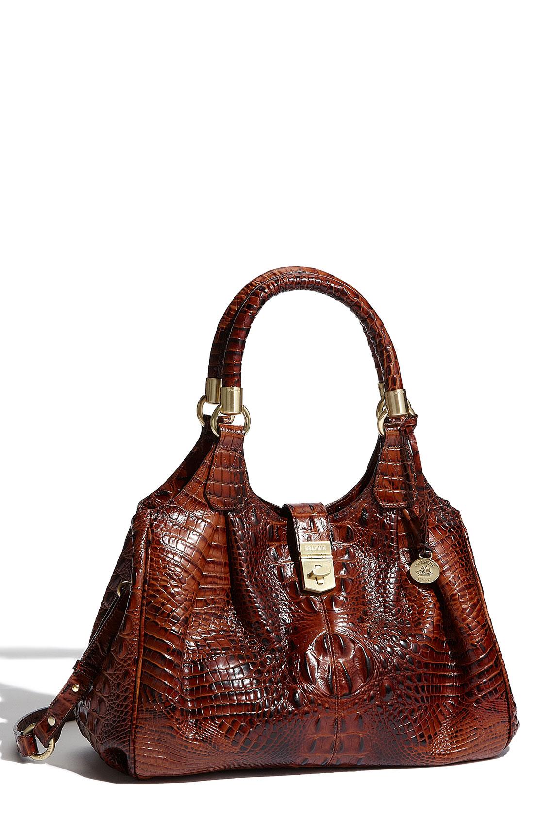 Brahmin 'Elisa' Handbag in Brown (pecan)