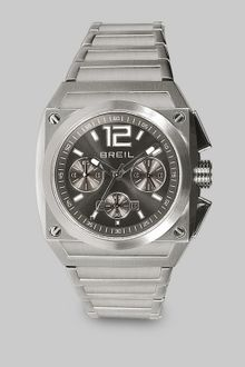 Breil Square Stainless Steel Chronograph Watch - Lyst