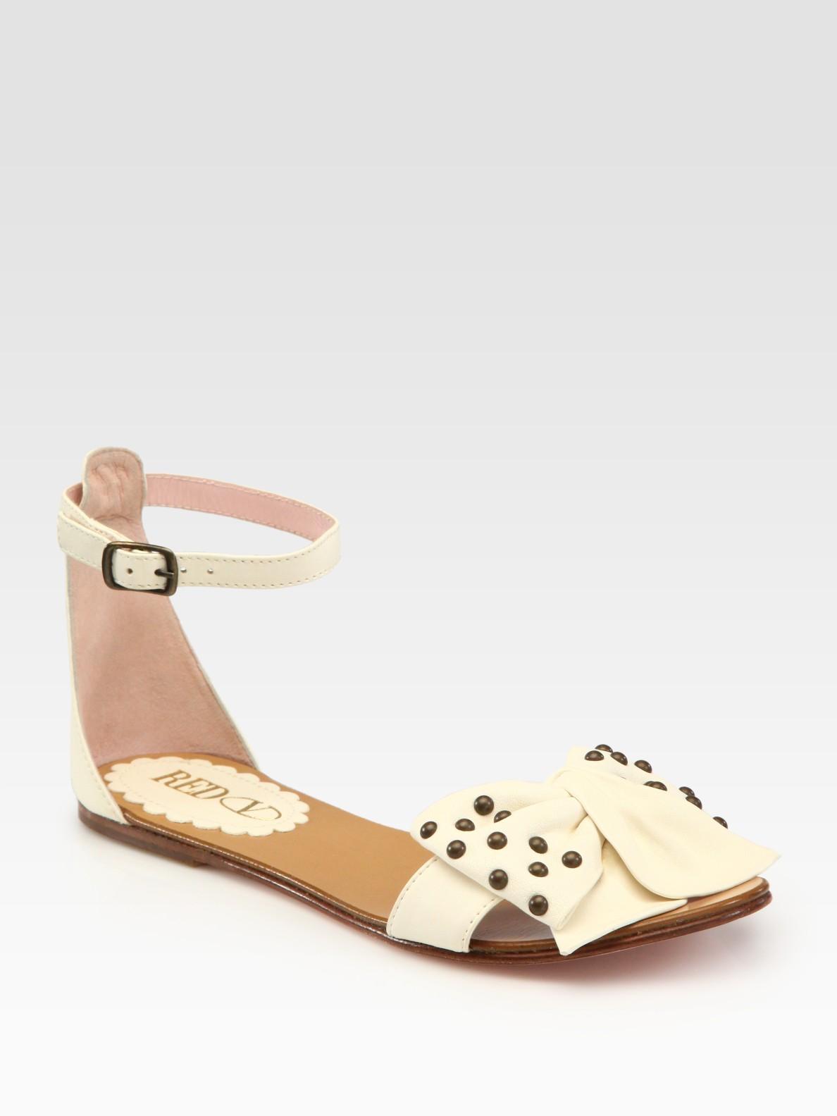 Aldo White Studded Shoes