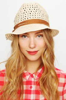 Free People Salena Crochet Texture Hat