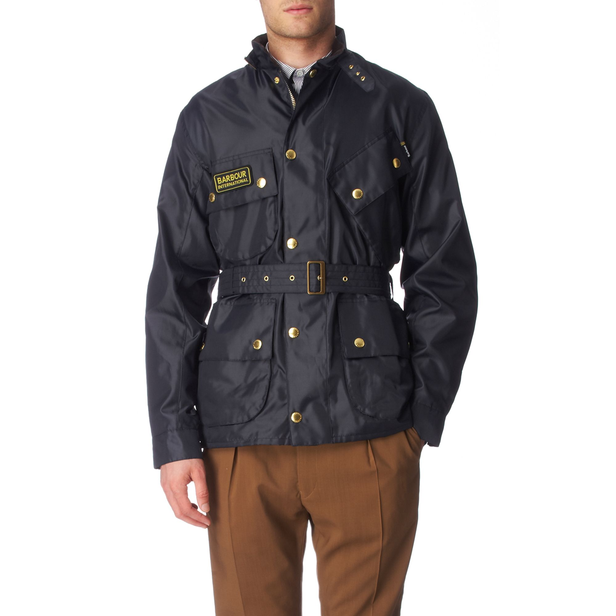 Barbour A7 Brass International Jacket In Blue For Men Lyst
