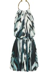 Just Cavalli Printed Crepe-jersey Dress