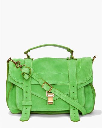 Proenza Schouler Ps1 Medium Suede Satchel - Lyst