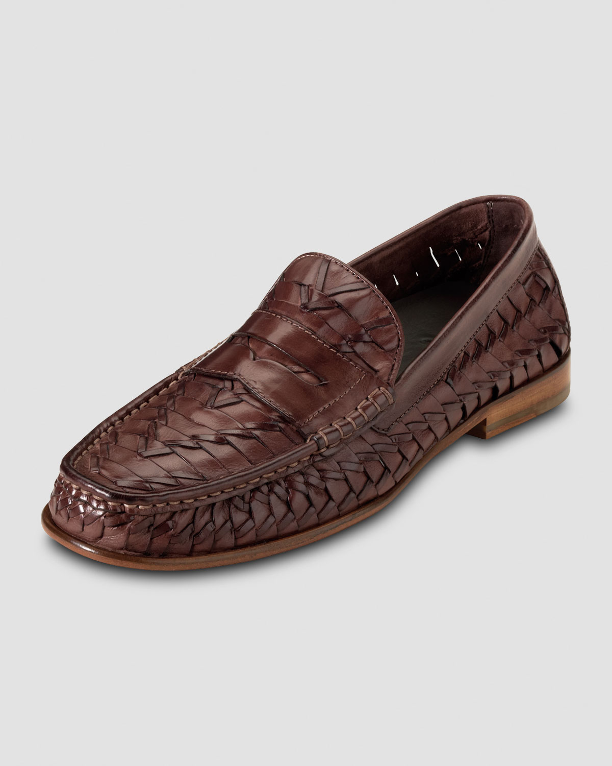 Lyst - Cole Haan Air Tremont Woven Penny Loafer in Brown for Men 4018c74ea