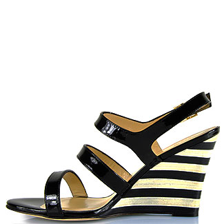Kate Spade New York Patent Leather Cindy Wedges fast delivery cheap online professional online discount 2015 ZpjX3Xr