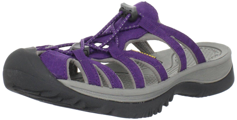 Keen Womens Whisper Slide Sandal In Purple Purple Heart