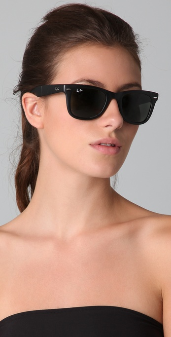 6c8c376f8b0a4 Buy Ray-Ban Women s Black Folding Wayfarer Sunglasses, starting at  160.  Similar products also available. SALE now on!