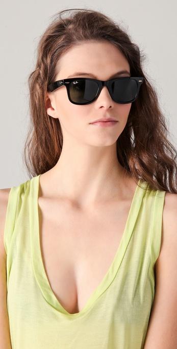 8a7612b044 Ray-Ban Original Wayfarer Sunglasses in Black - Lyst