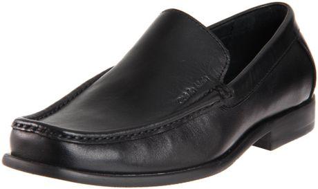 Calvin Klein Mens Neil Dress Calf Slip On in Black for Men