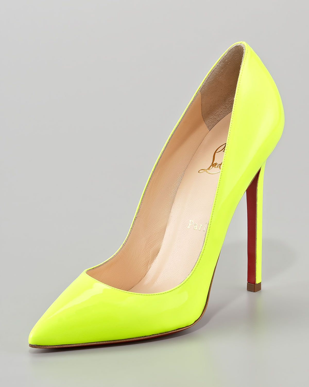 dae25ff65297 Gallery. Previously sold at  Neiman Marcus · Women s Yellow Heels Women s  Christian Louboutin Pigalle