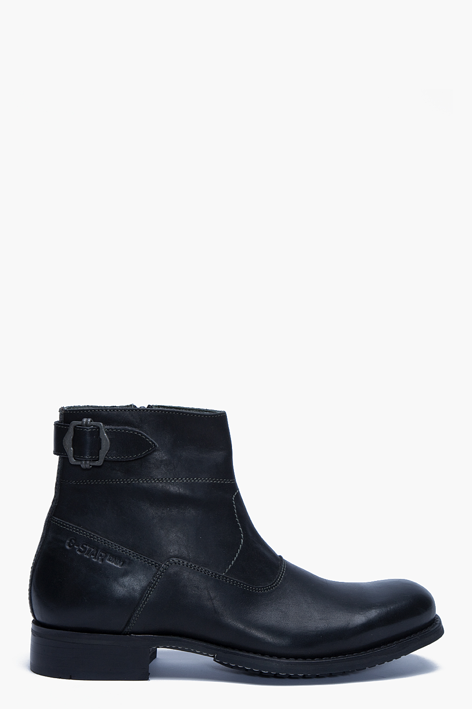 g star raw m i mission ii boots in black for men lyst. Black Bedroom Furniture Sets. Home Design Ideas