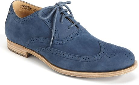 Rockport Day To Night Wingtip Oxford in Blue for Men (dress blues)