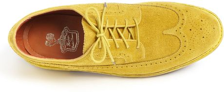 Florsheim Yellow Brogues Brogue Oxford in Yellow