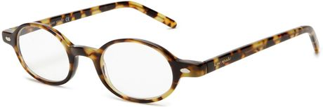Kate Spade Womens Foster Bl10 Round Reading Glasses in Brown (tokyo tortoise frame/demo lens)