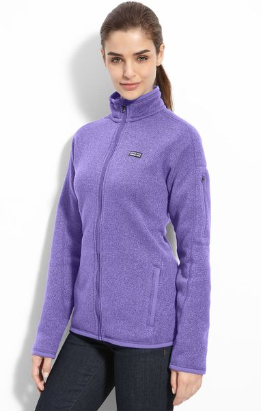 Patagonia Better Sweater Jacket In Purple Lyst