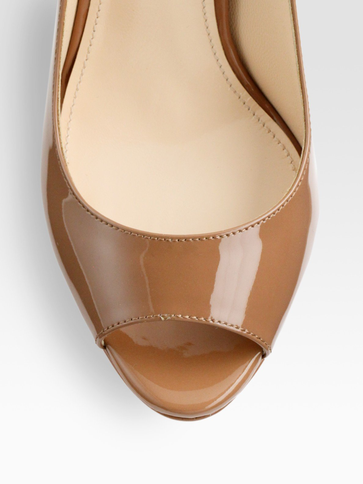 Jones Patent Leather Shoes Women Mid Heel