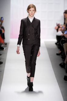 Tibi Fall 2012 Double-Breasted Formal Jacket in Black - Lyst
