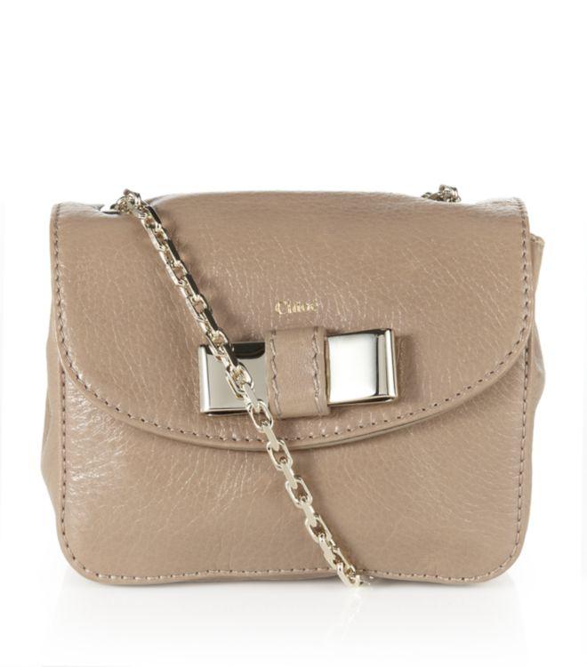 chloe black handbag - Chlo�� Mini Lily Crossbody Bag in Gold | Lyst