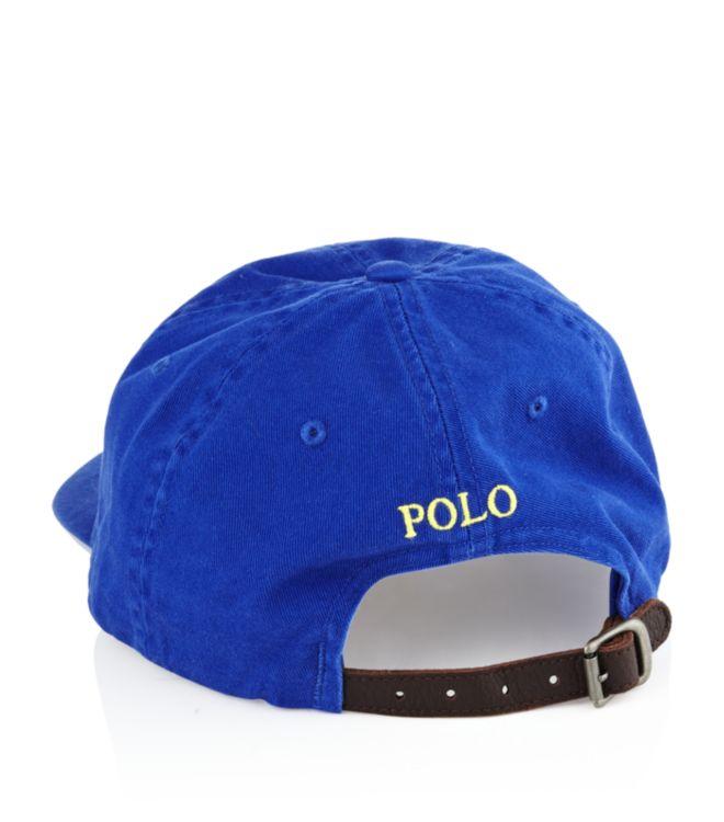 7db4e9985 Polo Ralph Lauren Classic Sport Cap in Blue for Men - Lyst