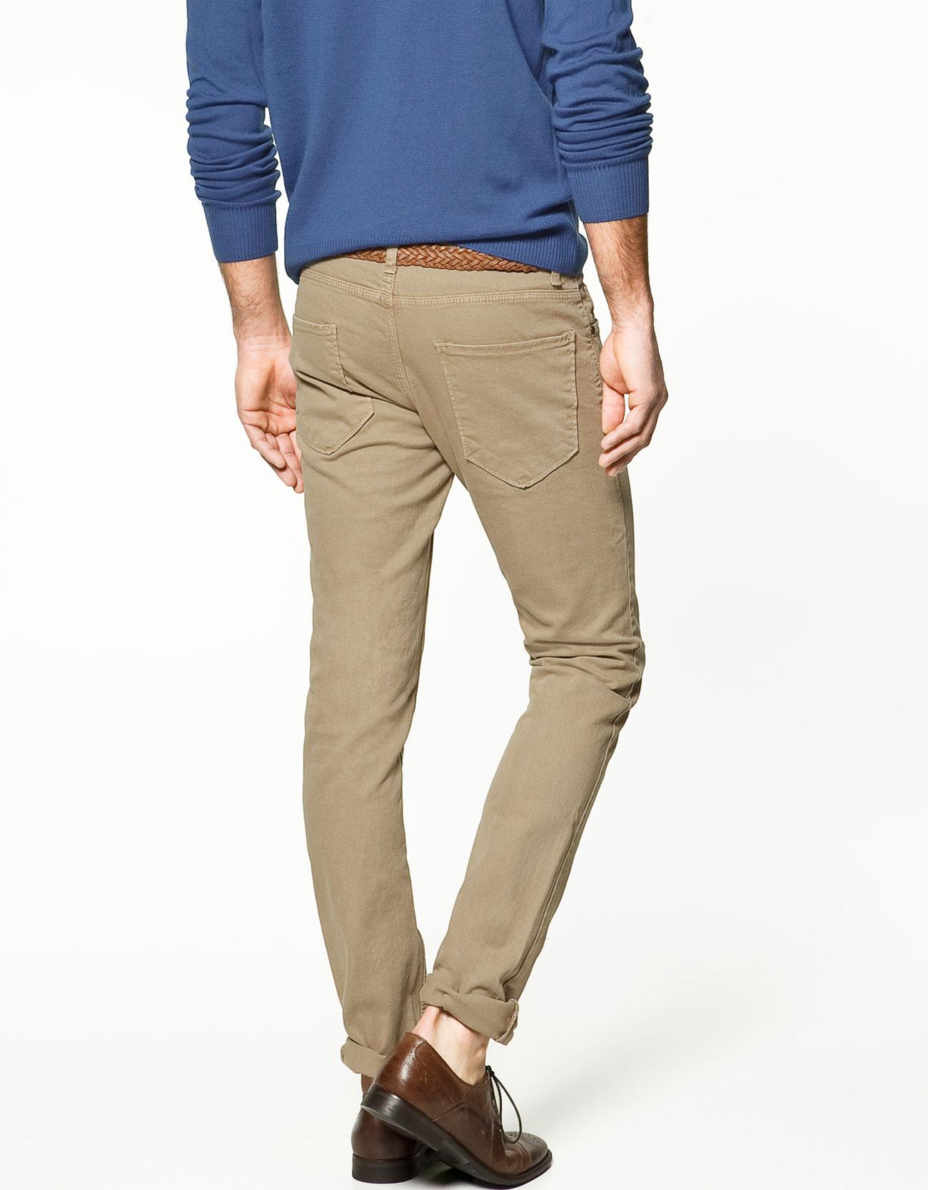 Zara Slim Trousers in Gray for Men | Lyst