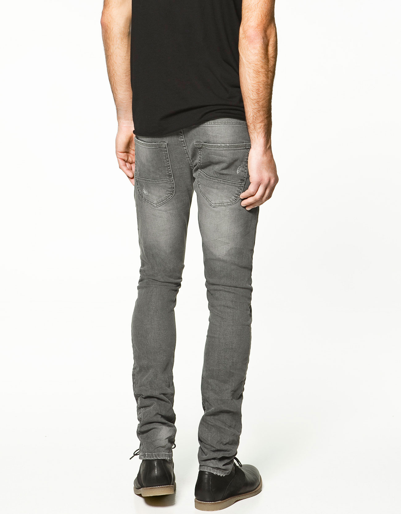 Men also can access all kinds of clothing and accessories necessary to accompany the clothes. Skinny ripped jeans are extremely hard and complicated when wearing.