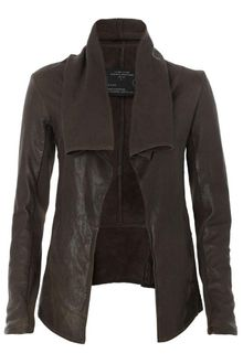 AllSaints Datya Leather Jacket - Lyst